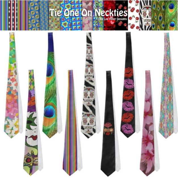 Tie One On Designer Ties by Lee Hiller